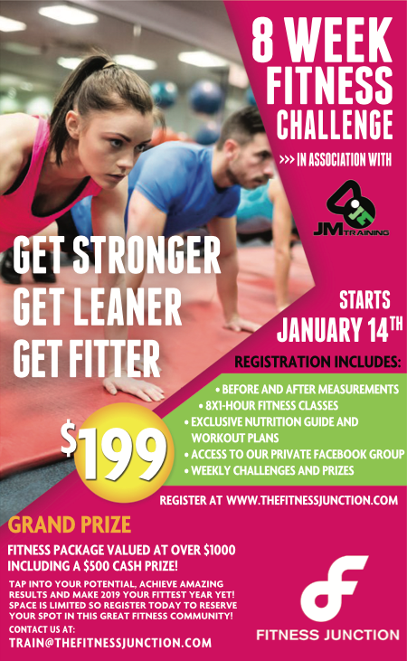 New Year, New You! | The Fitness Junction